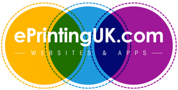 ePrintingUK – Website and app development Logo